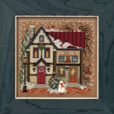 Victorian House Cross Stitch Kit Mill Hill 2006 Buttons /& Beads Winter